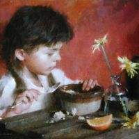 Morning Oatmeal by Morgan Weistling