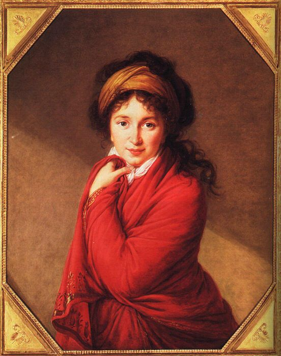 Portrait of Countess Golovine by Elisabeth Louise Vigee-Le Brun