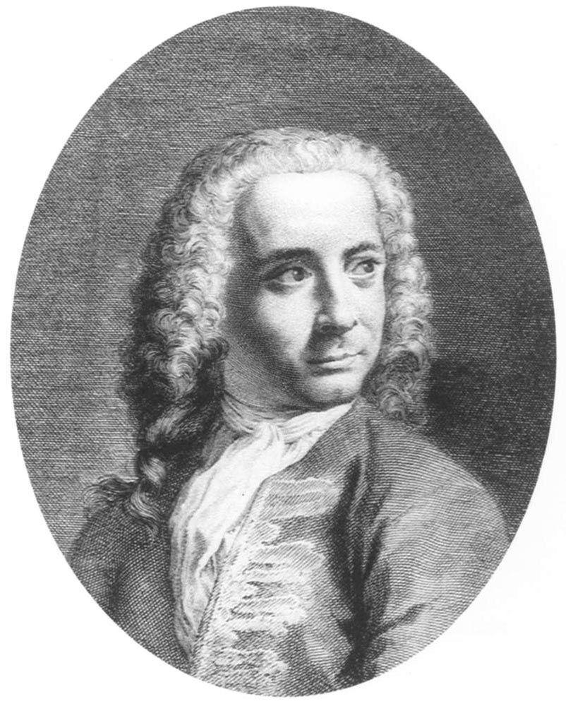 Portrait of Giovanni Antonio Canal called Canaletto by Antonio Visentini