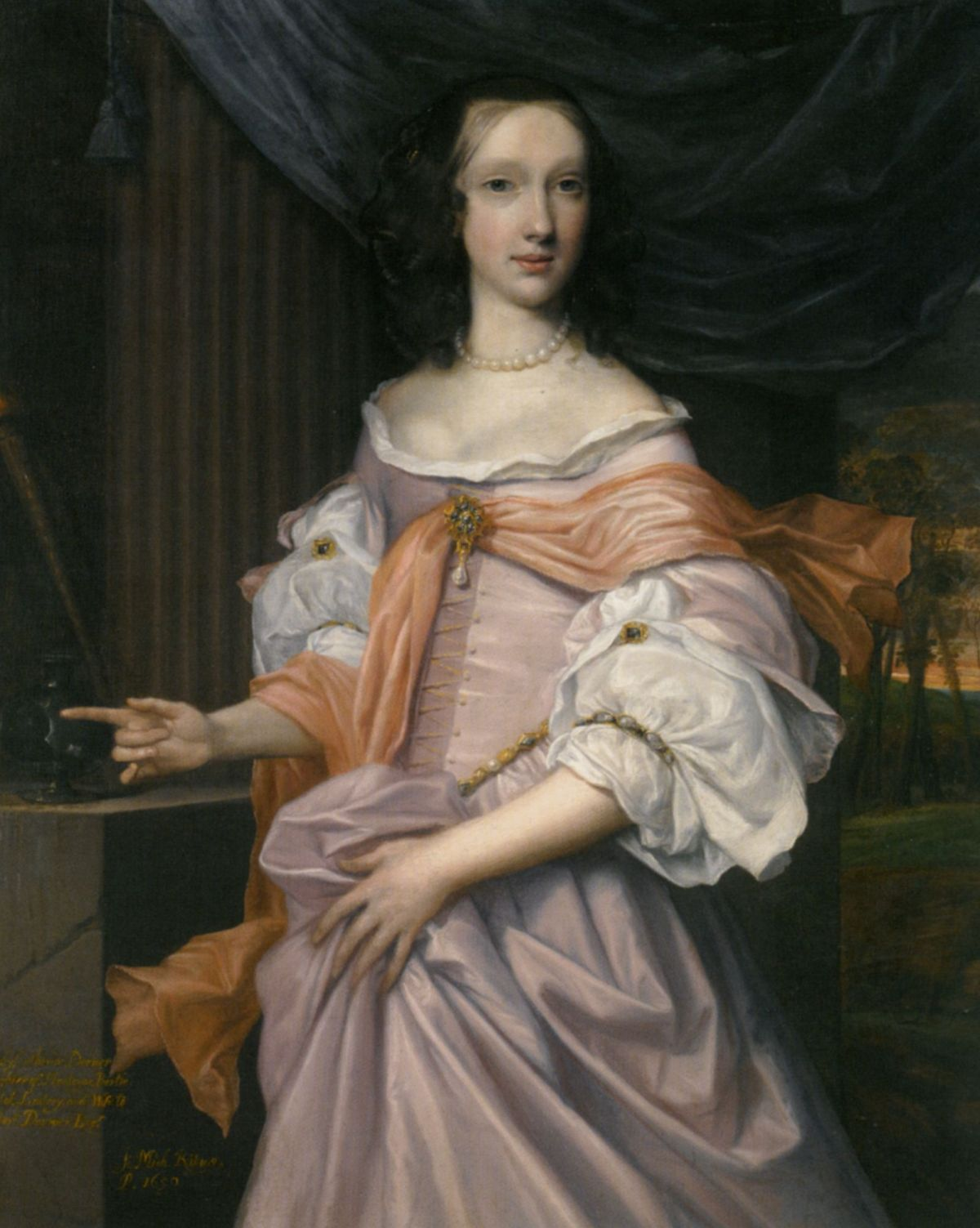 Portrait of Lady Catherine Dormer by John Michael Wright