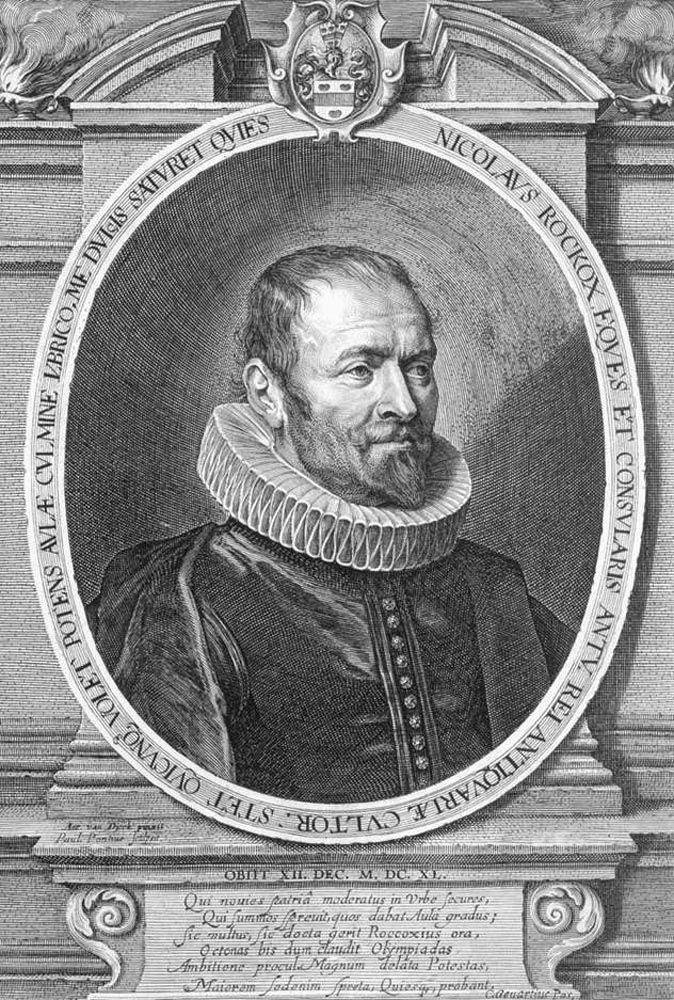 Portrait of Nicolaas Rockox by Lucas Vorsterman