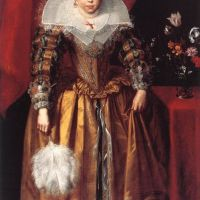 Portrait of a Girl at the Age of 10 by Cornelis De Vos