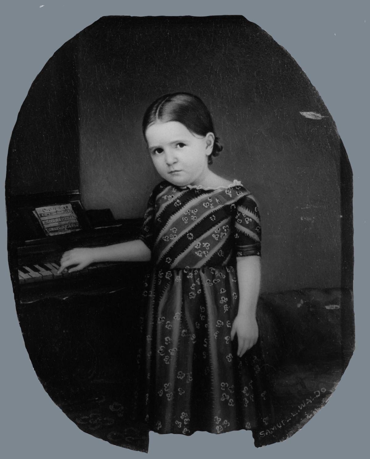 Portrait of a Girl by Samuel Lovett Waldo