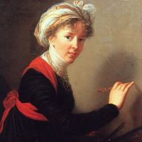 Self Portrait by Elisabeth Louise Vigee-Le Brun
