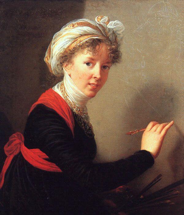 Self Portrait by Elisabeth Louise Vigee-Le Brun
