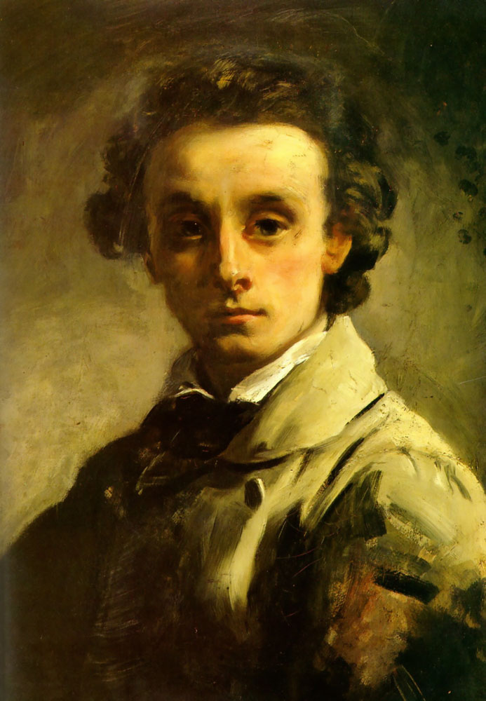 Selfportrait by William Lindsay Windus