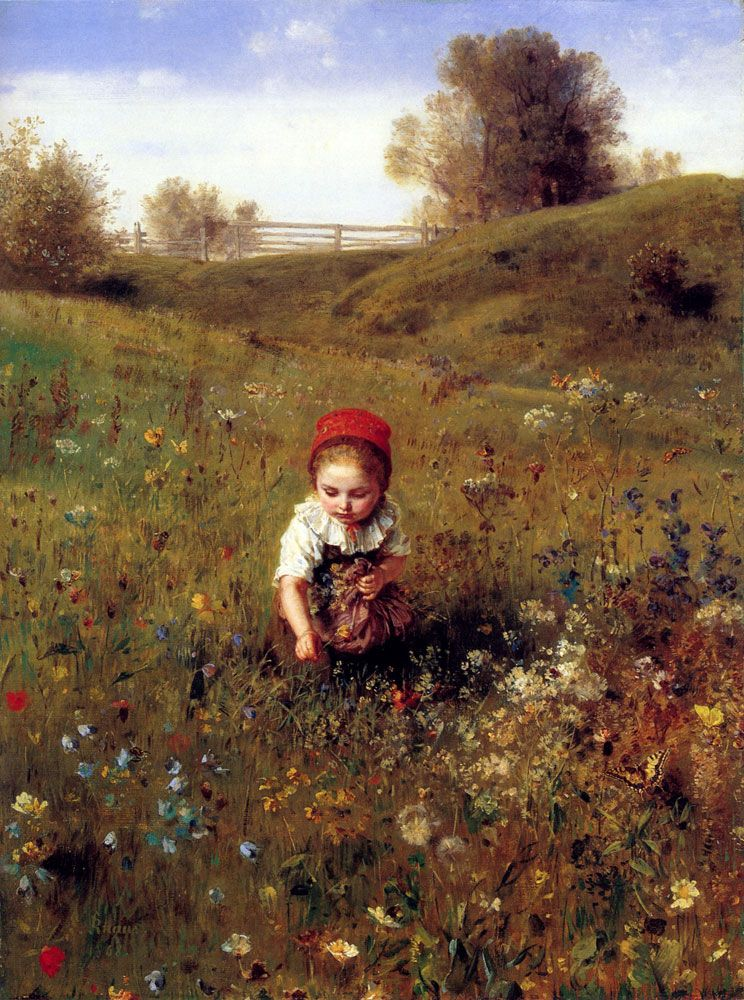 Spring Time by Ludwig Knaus