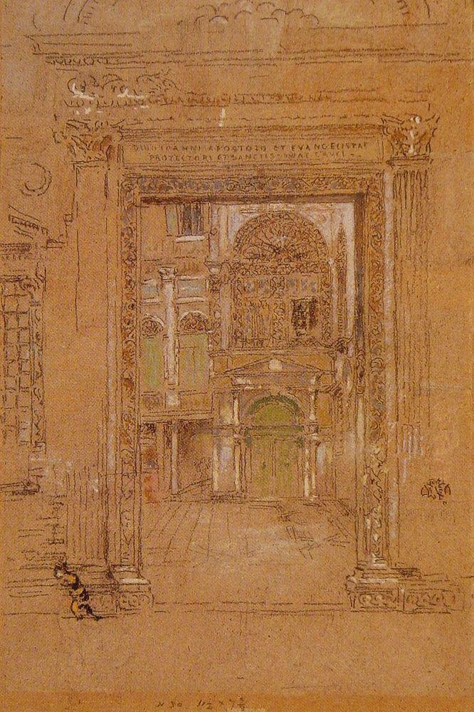 Ste Giovanni Apostolo et Evangelistae by James Abbott McNeill Whistler