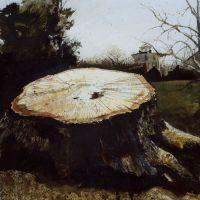 The Big Oak by Andrew Wyeth