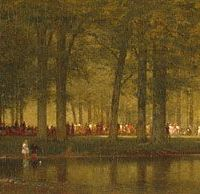 The Camp Meeting by Thomas Worthington Whittredge