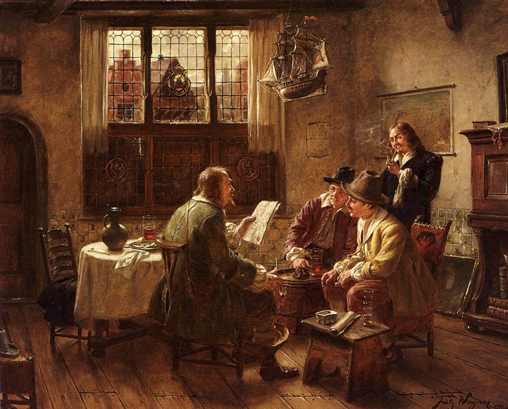 The Contract by Fritz Wagner