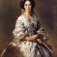 The Empress Maria Alexandrovna of Russia by Franz Xavier Winterhalter