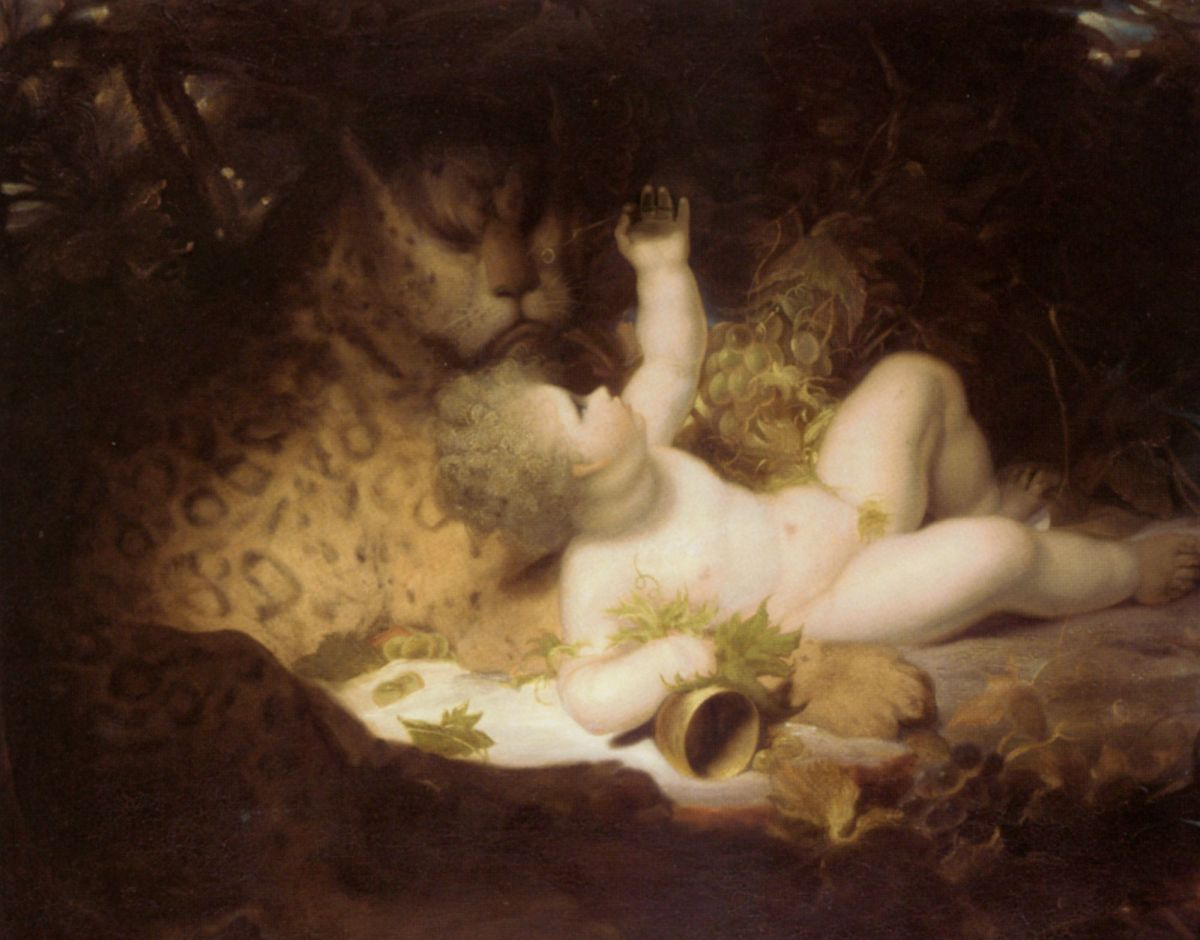 The Infant Bacchus by Richard Westall