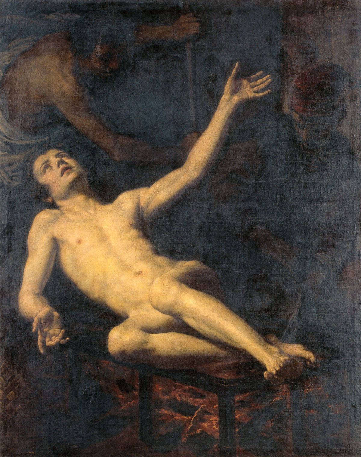 The Martyrdom of Saint Lawrence by Jacopo Vignali