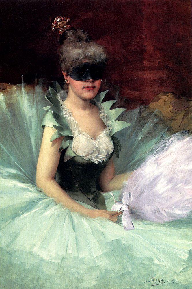 The Masked Beauty by John Harrison Witt