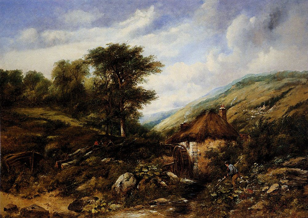 The Mill Stream by Frederick William Watts
