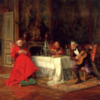 The Musical Interlude by Alfred Charles Weber