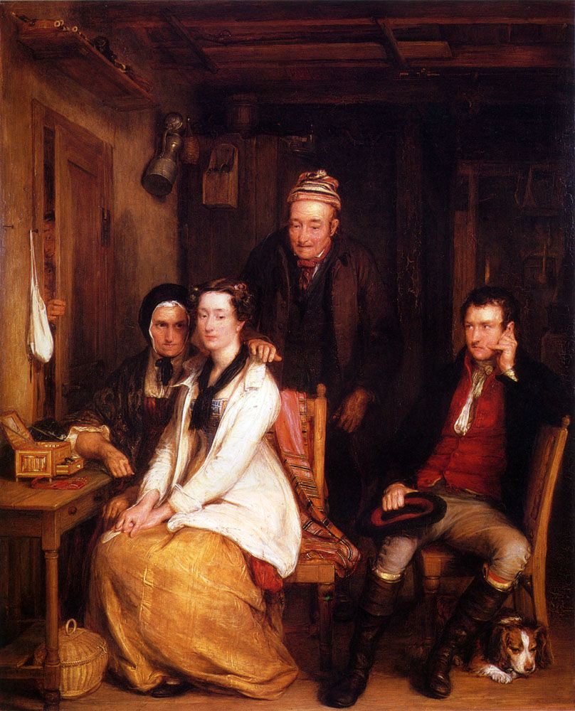 The Refusal From Burns by David Wilkie