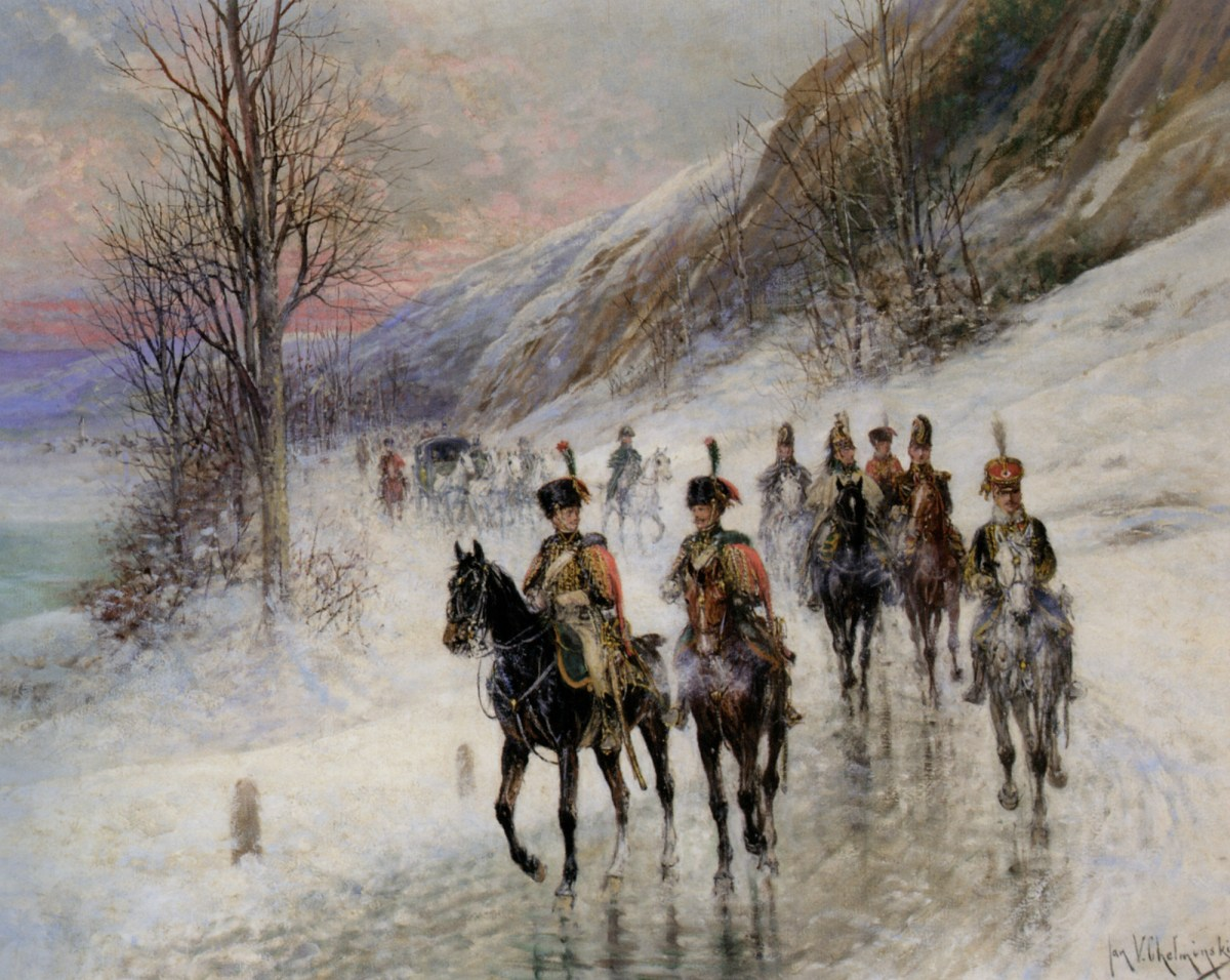 The Retreat from Moscow by Jan Von Chelminski