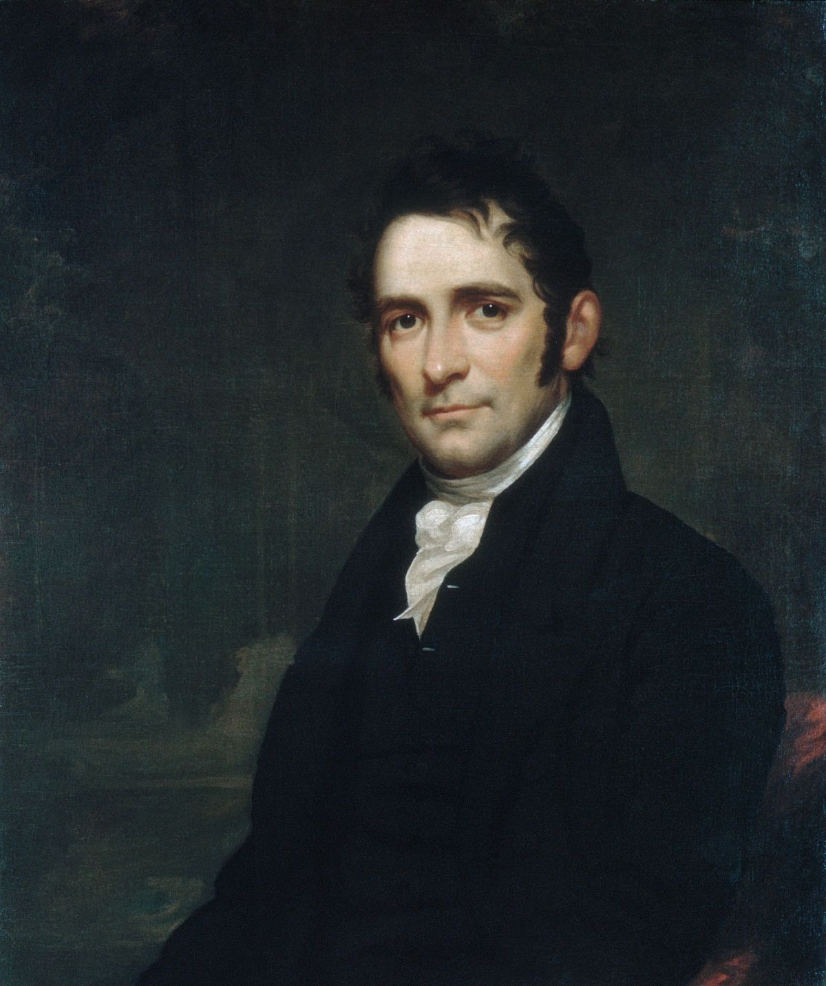 The Reverend John Brodhead Romeyn by Samuel Lovett Waldo
