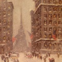 Trinity Church, Wall Street by Guy Carleton Wiggins