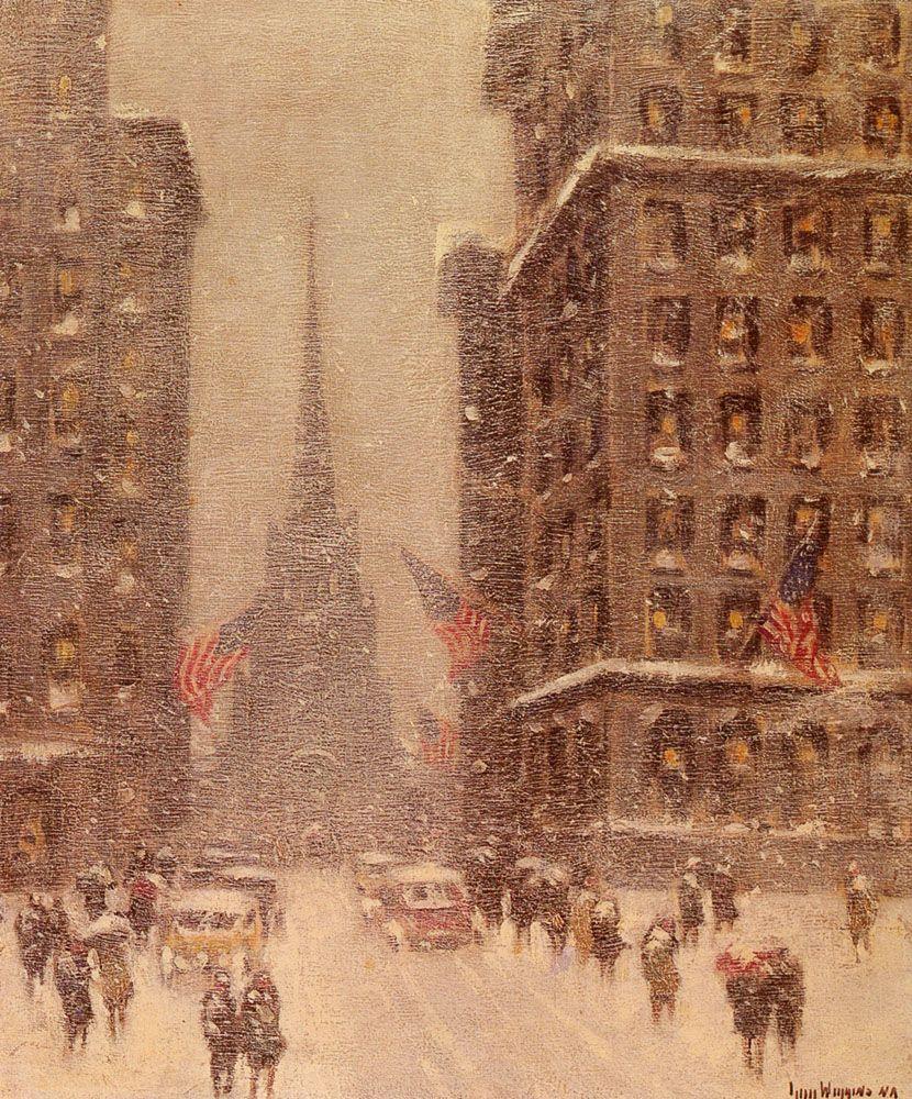 Trinity Church Wall Street by Guy Carleton Wiggins