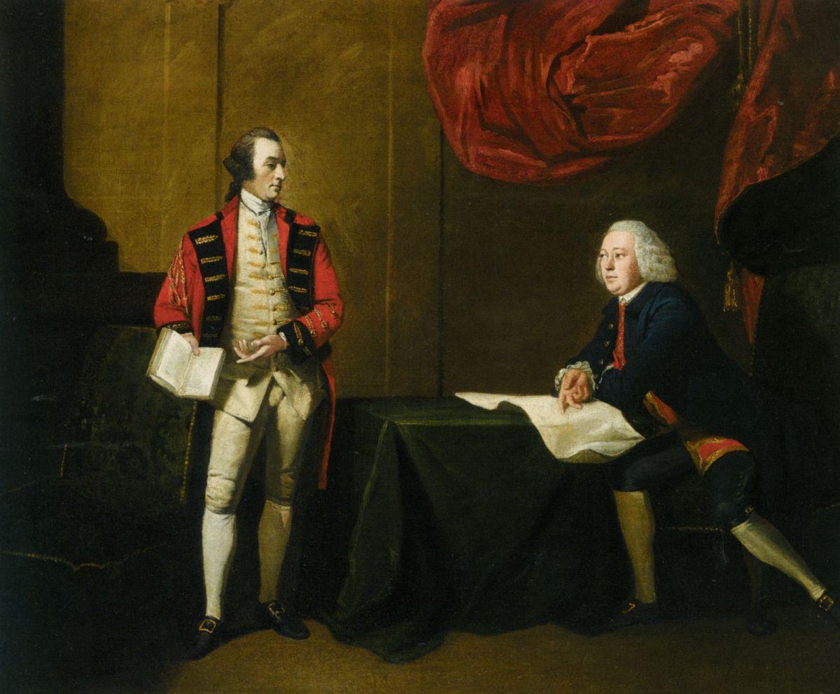Two Gentlemen by Benjamin Wilson