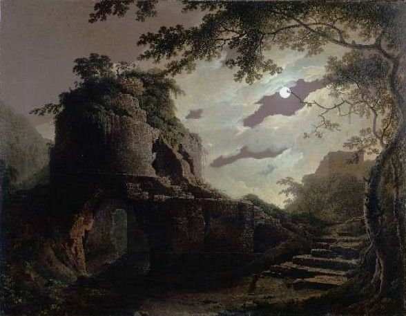 Virgil's Tomb by Joseph Wright of Derby