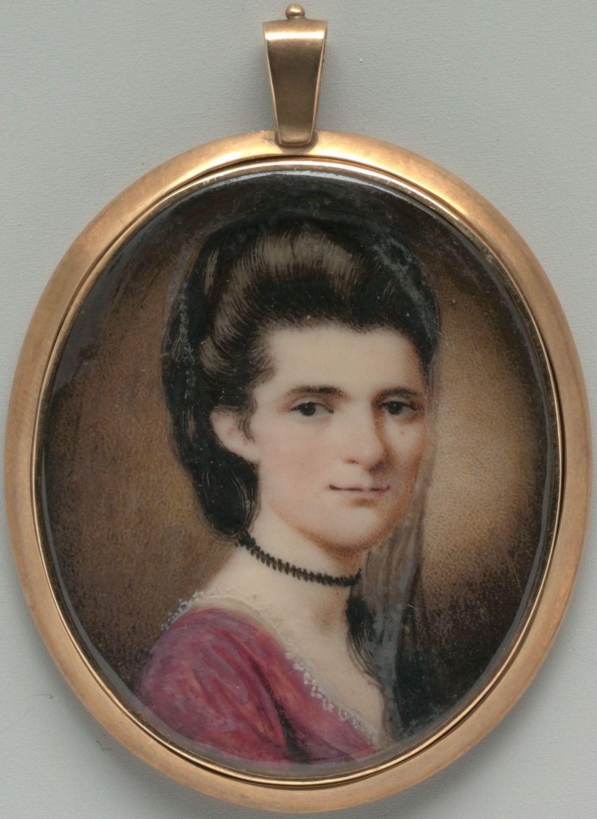 Elizabeth Ann Timothy (Mrs. William Williamson) by Henry Benbridge