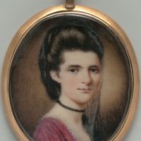 Elizabeth Ann Timothy (Mrs. William Williamson) by Henry Benbridge