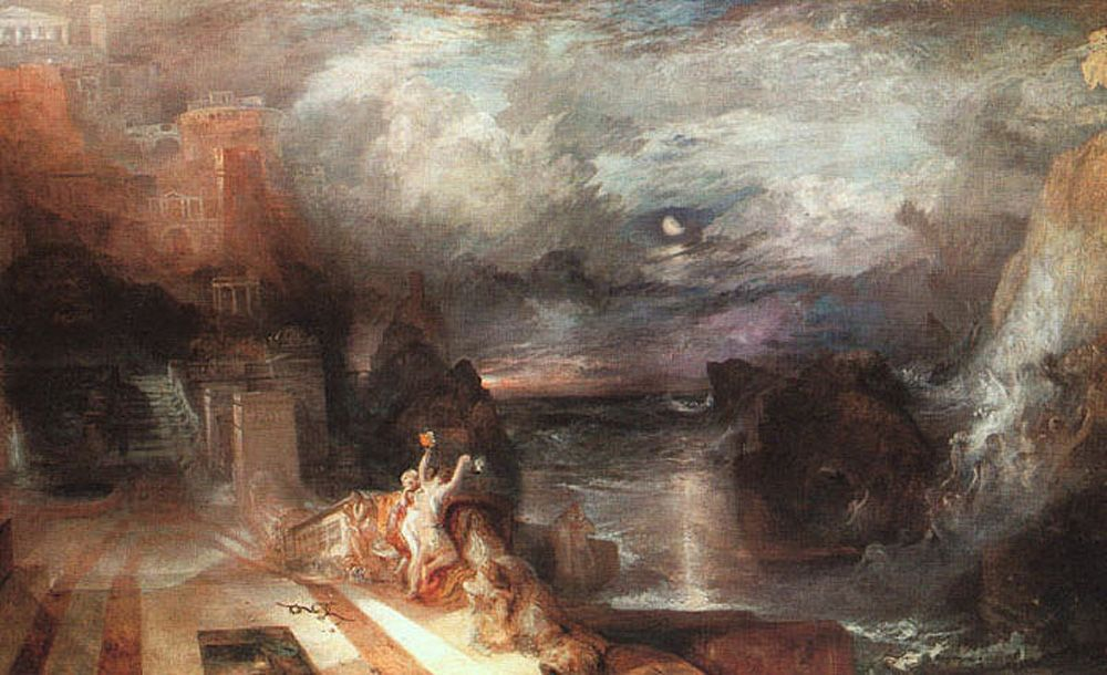 Hero and Leander by Joseph Mallord William Turner