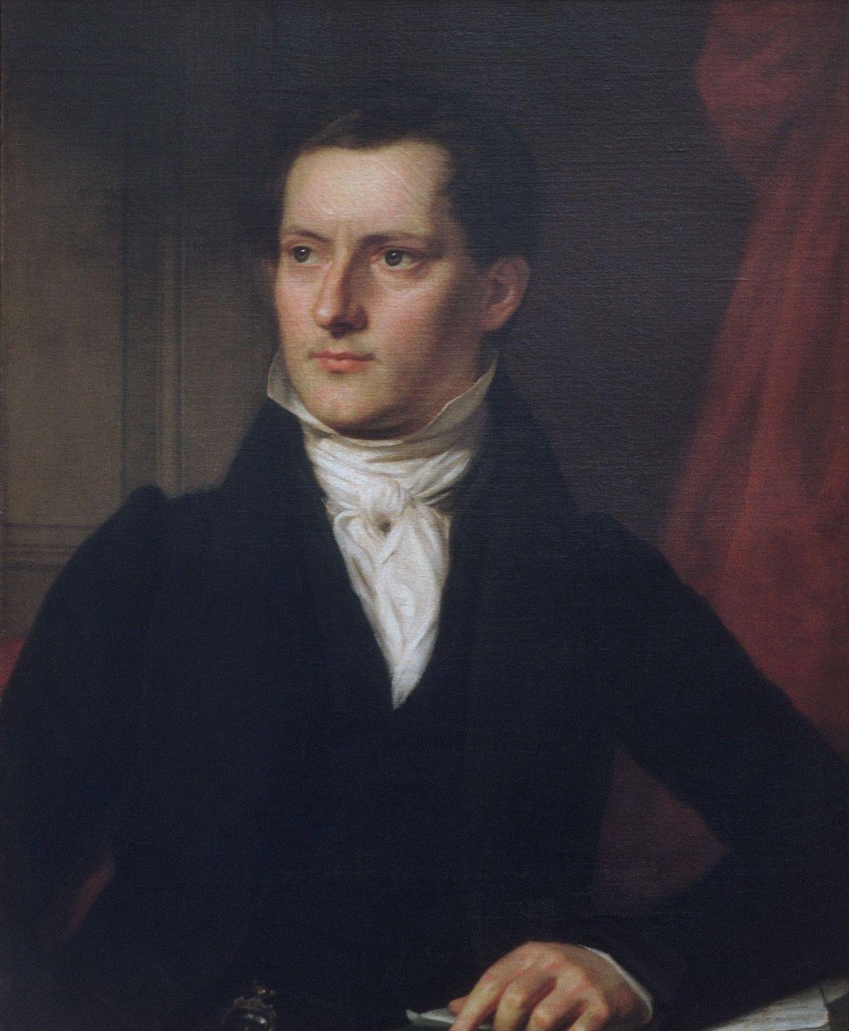 John A Sidell by John Vanderlyn