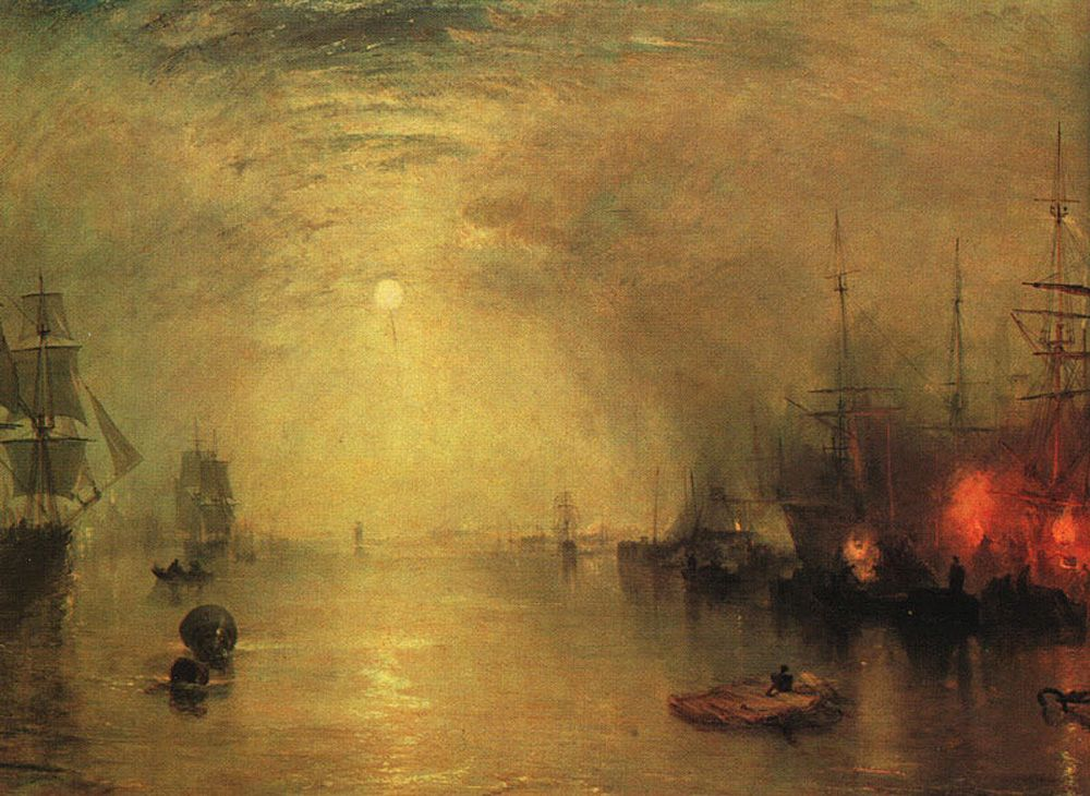 Keelman Heaving in Coals by Night by Joseph Mallord William Turner