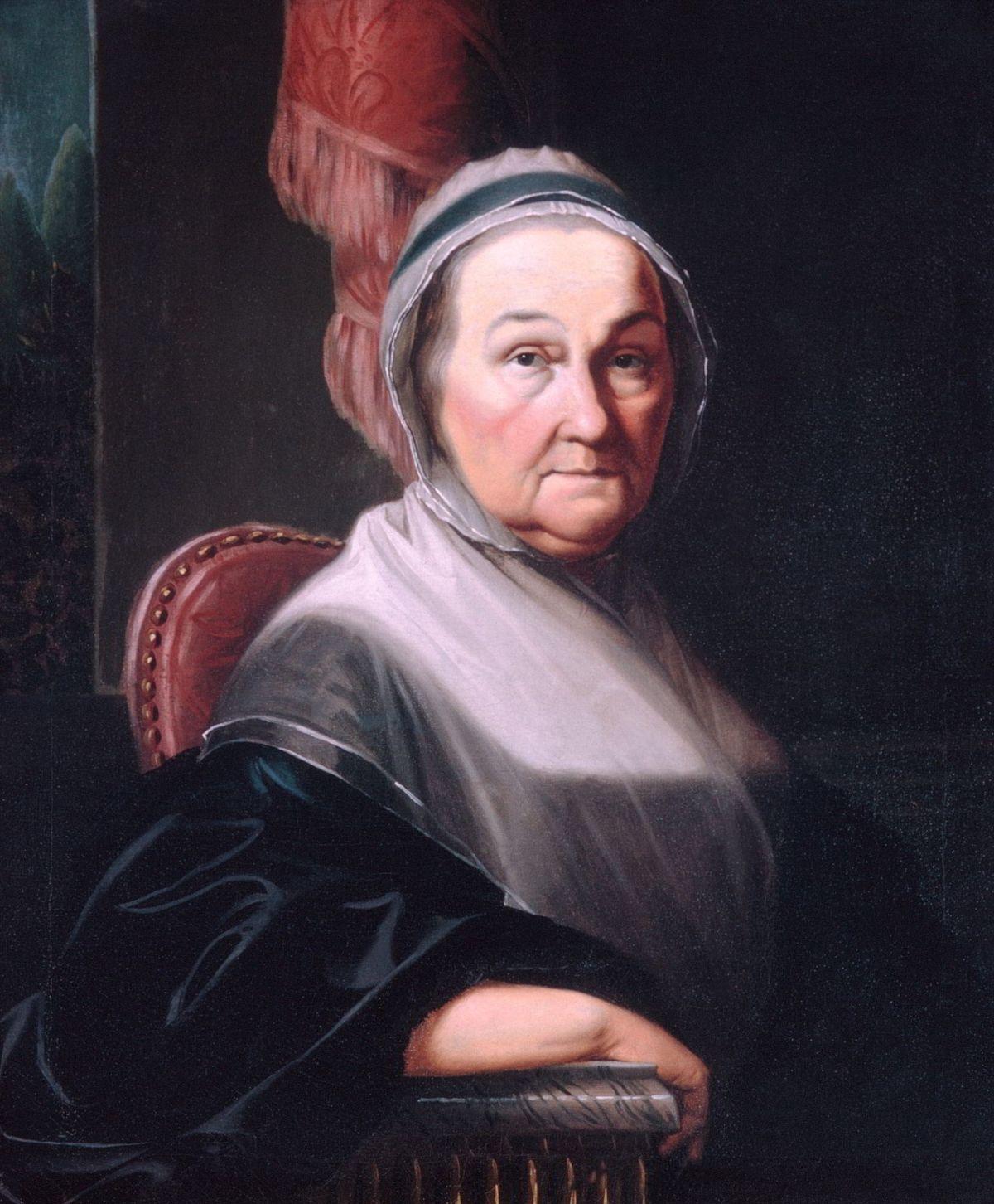 Mrs Benjamin Simons by Henry Benbridge
