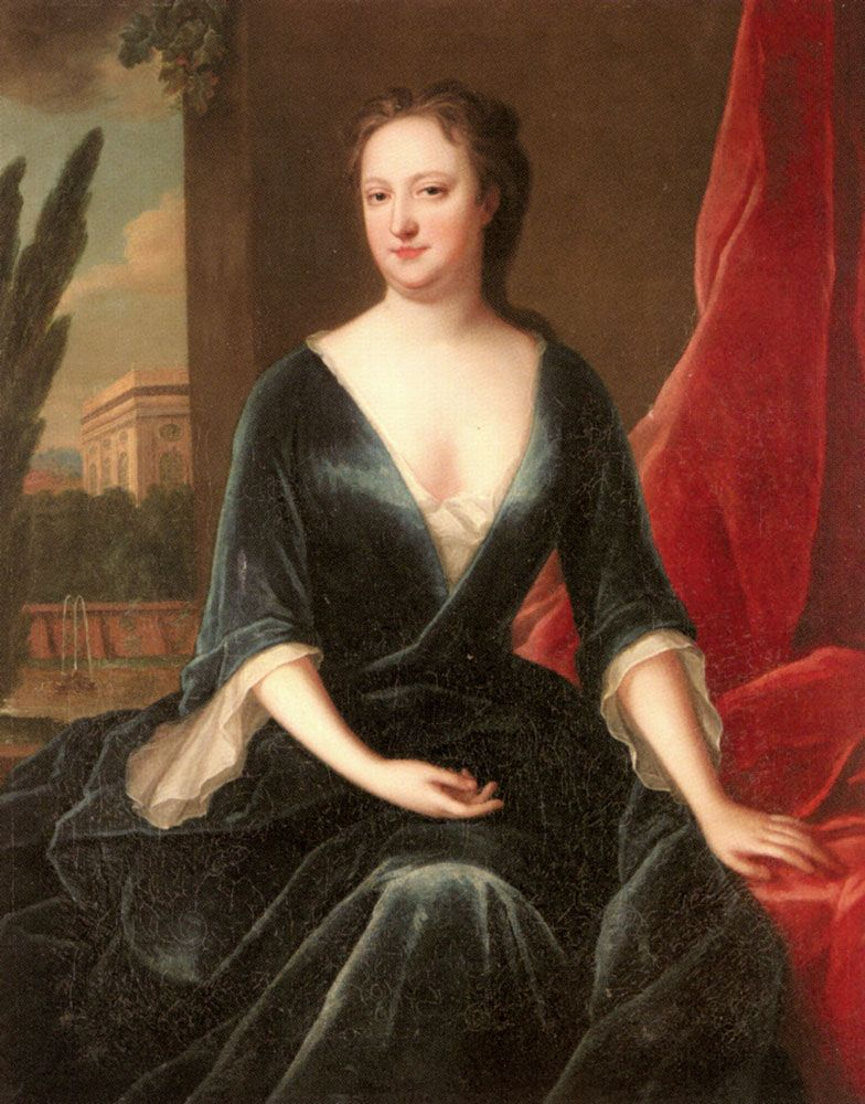 Portrait of A Lady by Maria Verelst