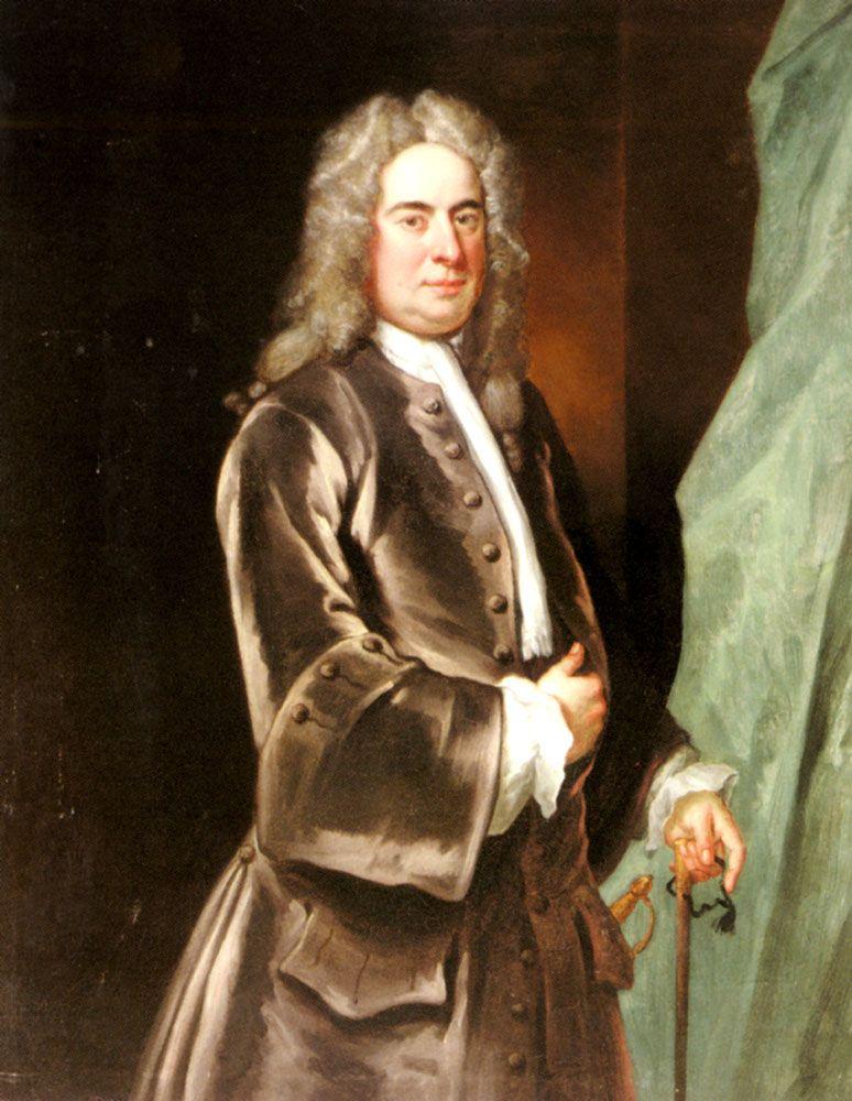 Portrait of a Gentleman by John Vanderbank