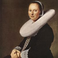 Portrait of a Woman by Johannes Cornelisz. Verspronck