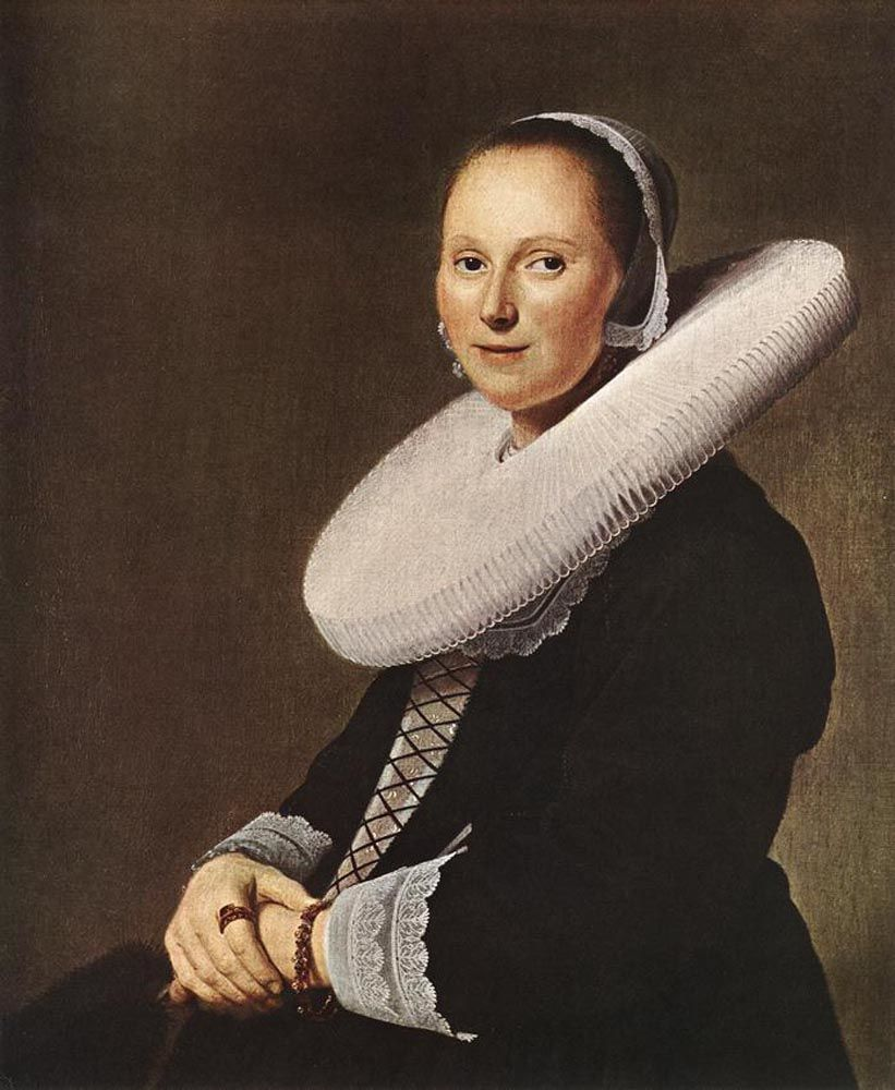 Portrait of a Woman by Johannes Cornelisz Verspronck