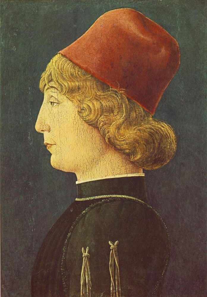 Portrait of a Young Man by Cosme Tura