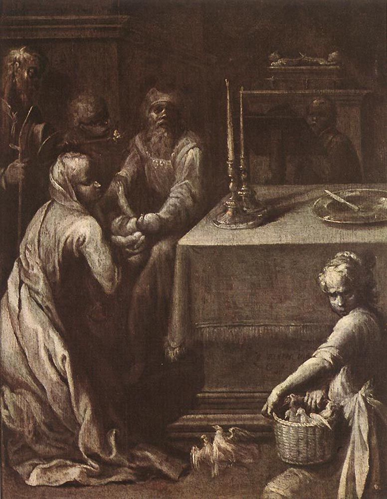 Presentation of Christ in the Temple by Quentin Varin