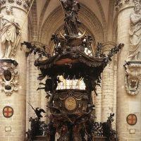 Pulpit by Hendrick Frans Verbruggen