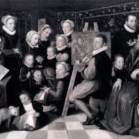 Self­portrait Of The Artist With His Family by Otto van Veen