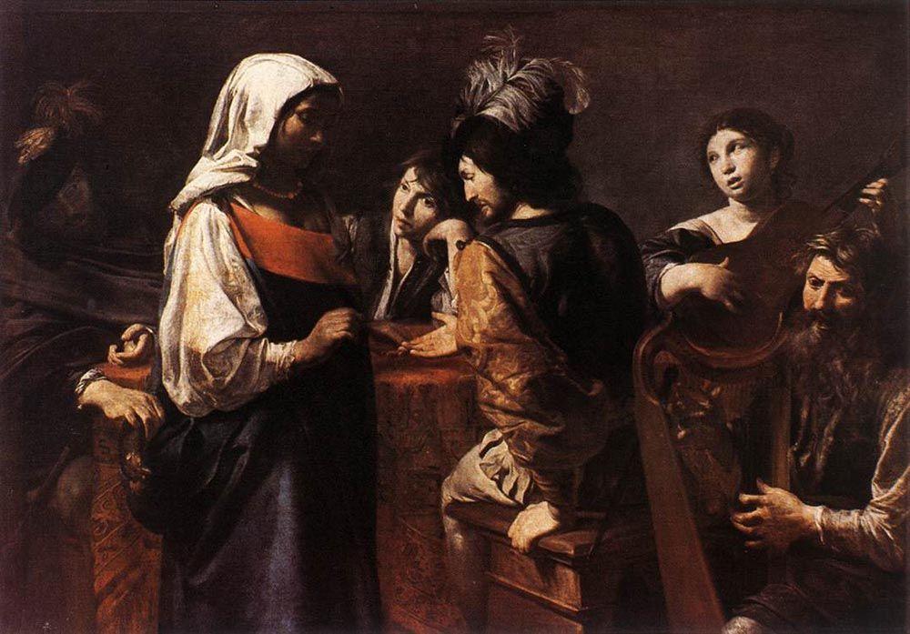 The Fortune Teller by Jean de Boulogne Valentin