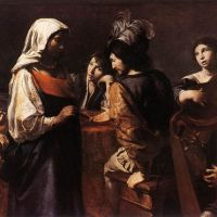 The Fortune Teller by Jean de Boulogne Valentin