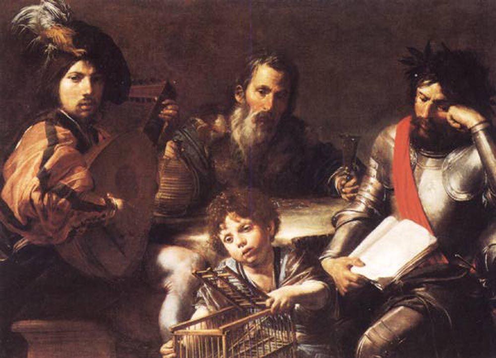 The Four Ages of Man by Jean de Boulogne Valentin