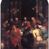 The Last Supper by Otto van Veen