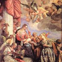The Marriage of St Catherine by Paolo Veronese