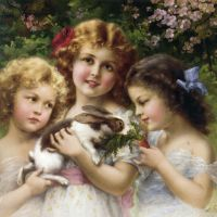 The Pet Rabbit by Emile Vernon