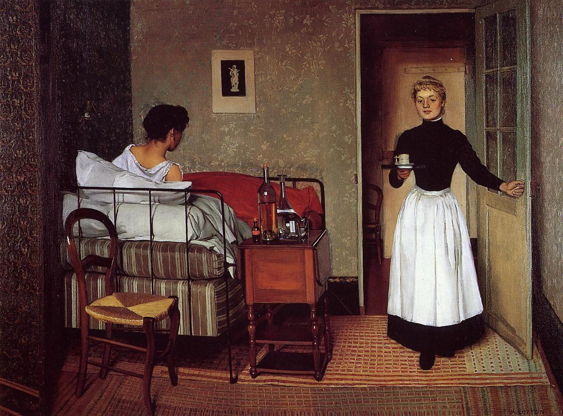 The Sick Girl by Felix Vallotton
