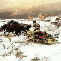 The Sledge Ride by Jaroslav Fr. Julius Vesin